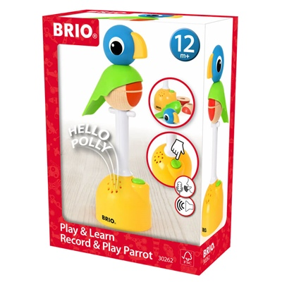 BRIO Lek och Lär Record & Play Papegoja, 30262