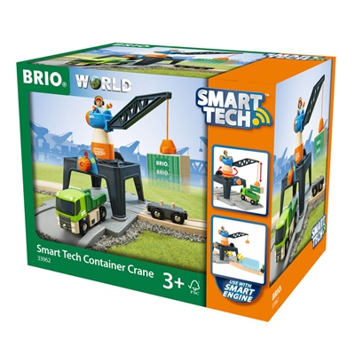 BRIO Smart Tech Containerkran, 33962