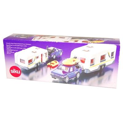 Siku SUV med Husvagn 1:55, 2532SK