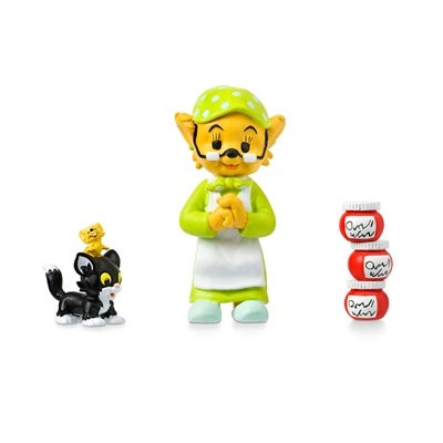 Micki Farmor, Katten & Musen Figurset, 64.0037