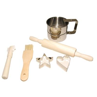 Just For Chef Leksaksbakset 6 Delar, CH20575