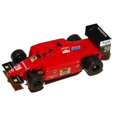 Tomy AFX Aurora Formel 1 Ferrari Bilbanebil, 814012381