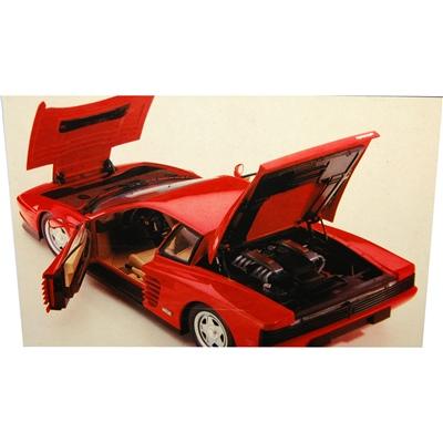 Pocher Rivarossi Ferrari Testarossa Coupé Röd 1:8, K-51