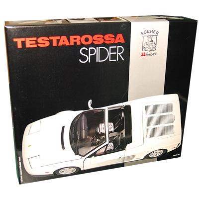 Pocher Rivarossi Ferrari Testarossa Spider Vit 1:8, K-52