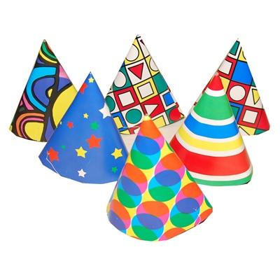 Partyhattar i Papp 6-Pack, 7320343111045