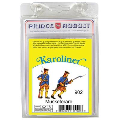 Prince August Karoliner Musketerare Set 1, 902K