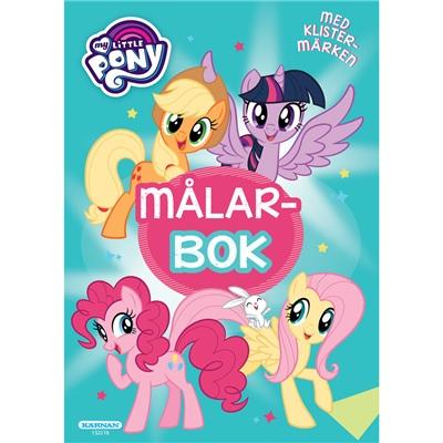 Kärnan Målarbok My Little Pony med Klistermärken, 132216