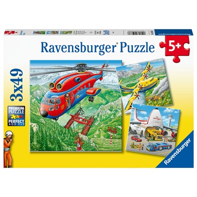 Ravensburger Pussel 3x49 Bitar Above the Clouds, 050338
