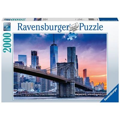 Ravensburger Pussel 2000 Bitar New York Skyline, 160112