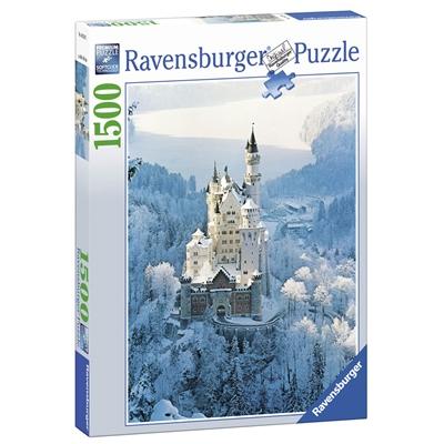 Ravensburger Pussel 1500 Bitar Neuschwanstein in Winter, 162192