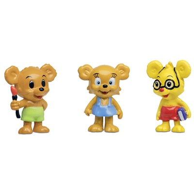 Micki Nalle-Maja, Brum & Teddy Figurset, 64.0038