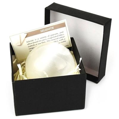 Selenite Sphere 6 cm, 50950