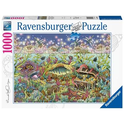 Ravensburger Pussel 1000 Bitar Underwater Kingdom in Dusk, 159888