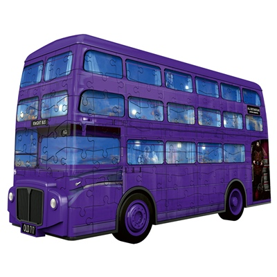 Ravensburger 3D Pussel 216 Bitar Harry Potter Knight Bus, 111589