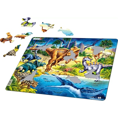 Larsen Pussel 57 Bitar Dinosaurier, NB3