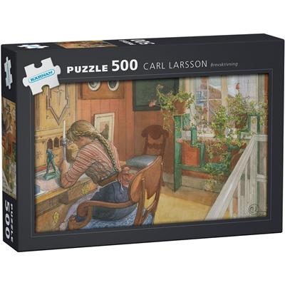 Kärnan Pussel 500 Bitar Carl Larsson - Brevskriverskan, 570007