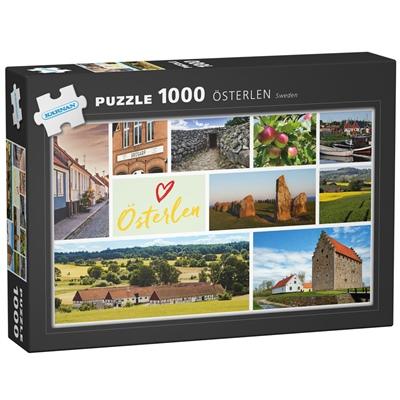Kärnan Pussel 1000 Bitar Österlen Sweden, 580048