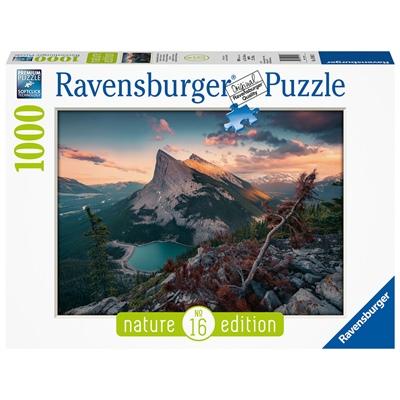 Ravensburger Pussel 1000 Bitar Rugged Rocky Mountains, 150113
