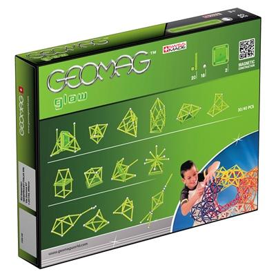 Geomag Glow 40 Delar, 330G