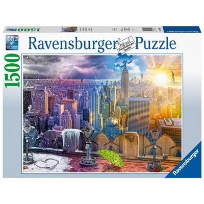 Ravensburger Pussel 1500 Bitar Seasons of New York, 160082