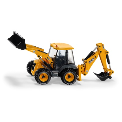 Siku JCB 4CX Traktorgrävare med Bakskopa 1:50, 3558