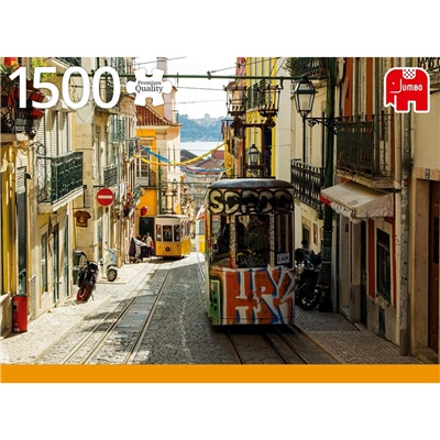 Jumbo Pussel 1500 Bitar Lisboa Portugal, 18829