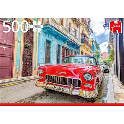 Jumbo Pussel 500 Bitar Havana Cuba, 18803