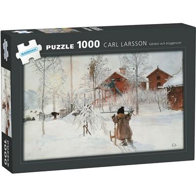 Kärnan Pussel 1000 Bitar Carl Larsson Gården och Brygghuset, 580060