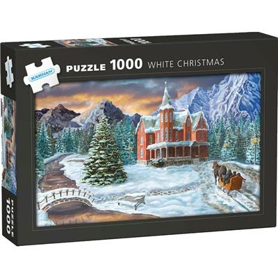 Kärnan Pussel 1000 Bitar White Christmas, 580058