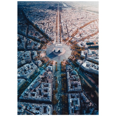 Ravensburger Pussel 1000 Bitar Paris from Above, 159901