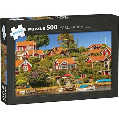 Kärnan Pussel 500 Bitar Karlskrona Sweden, 570032