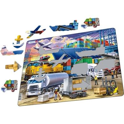 Larsen Pussel 37 Bitar Logistik Hub, US44