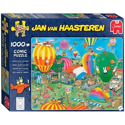 Jan van Haasteren Pussel 1000 Bitar Hooray Miffy 65 Years, 20024