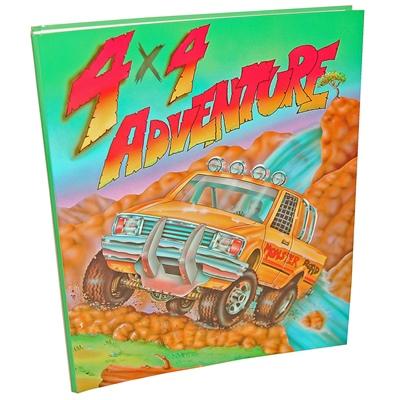 4x4 Adventure Pärm A4, 670