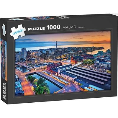 Kärnan Pussel 1000 Bitar Malmö, 580064