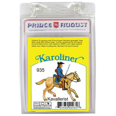 Prince August Karoliner Kavallerist, 935K