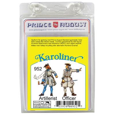 Prince August Karoliner Artillerist & Officer, 952