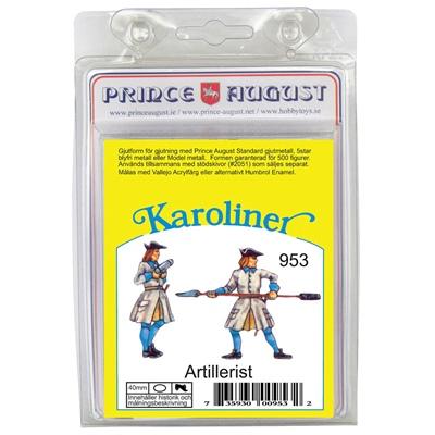 Prince August Karoliner Artillerist Set 1, 953