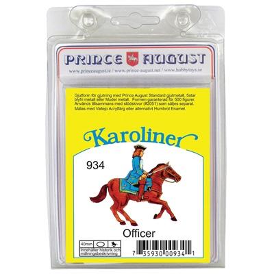 Prince August Karoliner Officer, 934