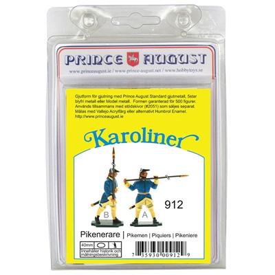 Prince August Karoliner Pikenare set 1, 43912