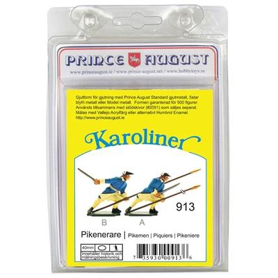 Prince August Karoliner Pikenare set 2, 43913