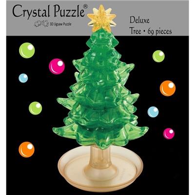 Crystal Puzzle 3D Pussel 69 Bitar Julgran, 28488