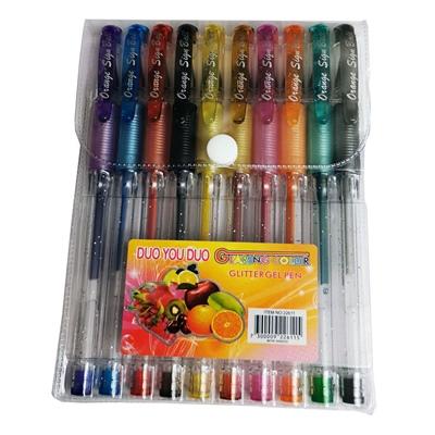 Gelpennor Glitter 10-Pack, 22611