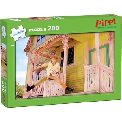 Kärnan Pussel 200 Bitar Pippi Långstrump, 550016