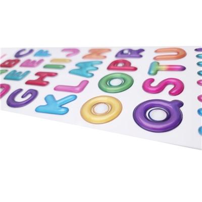 Stickers Popup Bokstäver, 51067R