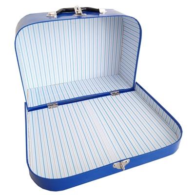 Resväskor i Papp Blåa 3-Pack, 620141
