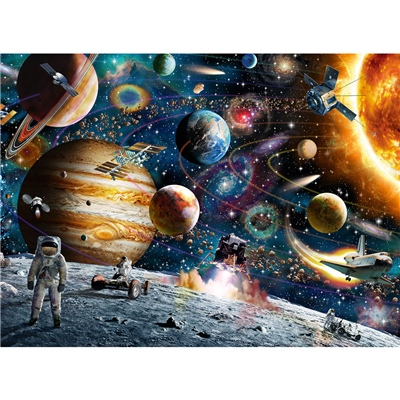 Ravensburger Pussel 150 XXL Bitar Outer Space, 100163