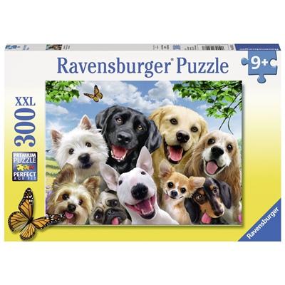 Ravensburger Pussel 300 XXL Bitar Delighted Dogs, 132287