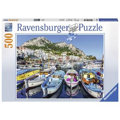 Ravensburger Pussel 500 Bitar Colorful Marina, 146604