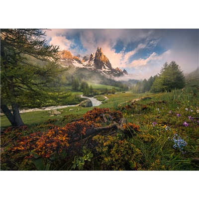 Ravensburger Pussel 1000 Bitar Clarée Valley French Alps, 159932